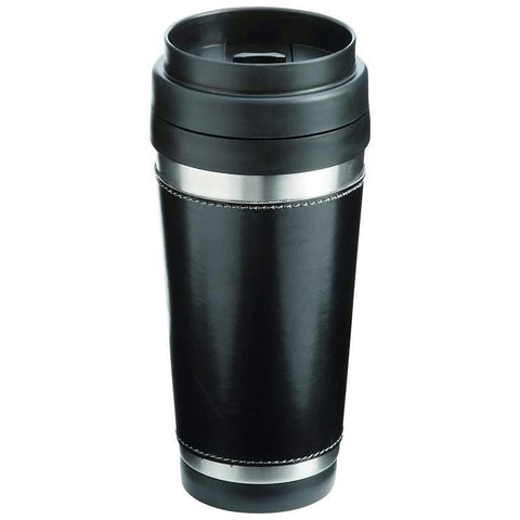 Picture of Maxam 16oz Stainless Steel Double Wall Travel Tumbler- Black