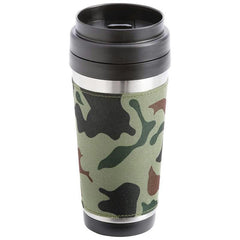 Maxam 16oz Stainless Steel Double Wall Travel Tumbler- Camo