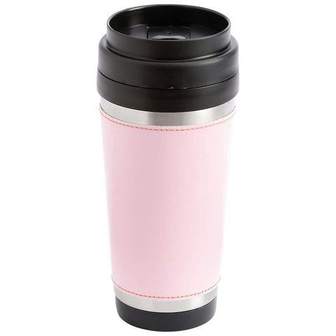 Picture of Maxam 16oz Stainless Steel Double Wall Travel Tumbler- Pink