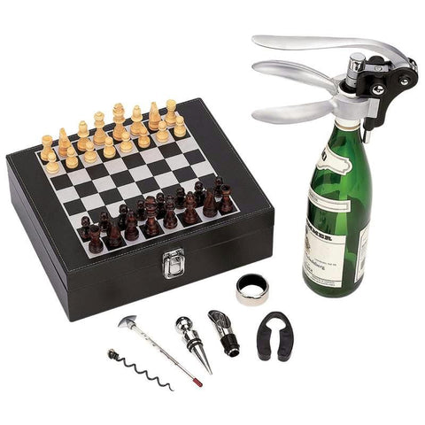 Picture of Wyndham House Wine Opener And Chess Set