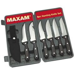 Maxam 8pc Hunting Knife Set