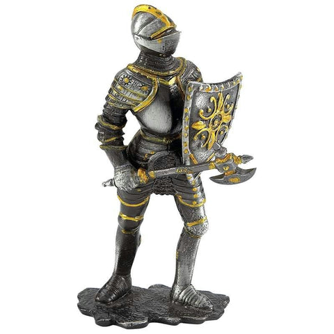 Picture of Wyndham House Metal European Standing Warrior Figure