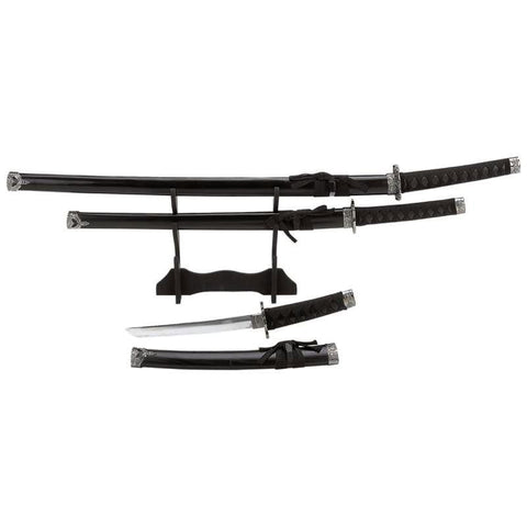 Picture of Maxam 4pc Sword Set With Stand