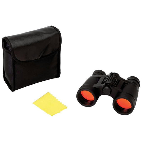 Picture of Magnacraft Compact 4x30 Binoculars With Ruby Red Coated Lenses For Glare Reduction