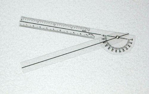 Picture of Plastic 6-3/4  Goniometer 180 Degrees