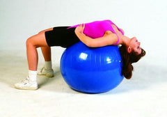 Inflatable PT Ball- 34in 85 Cm- Blue