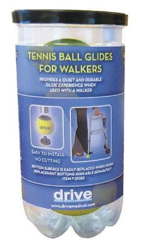 Picture of Tennis Ball Glides (2) (In Tennis Ball Can)