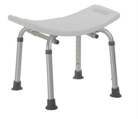 Picture of Shower Safety Bench W/O Back Tool-Free Assembly  Grey