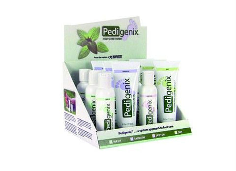 Picture of Pedigenix Foot Care System Countertop Display -12 pc.
