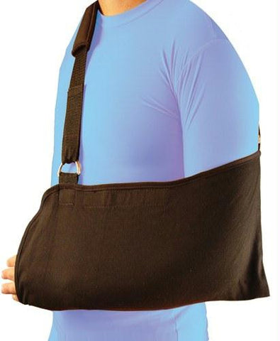 Picture of Bell-Horn Arm Sling  Universal Black w/Padded Shoulder Strap