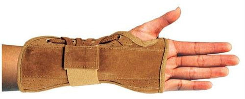 Picture of Bell-Horn Wrist Brace  Suede Medium Right  6.5  - 7.5