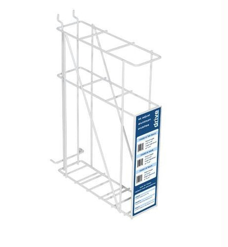 Picture of Crutch Rack For Plan-O-Gram White