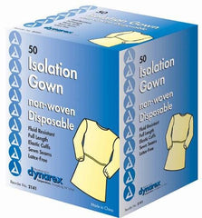 Fluid Resistant Isolation Gown Cs/50
