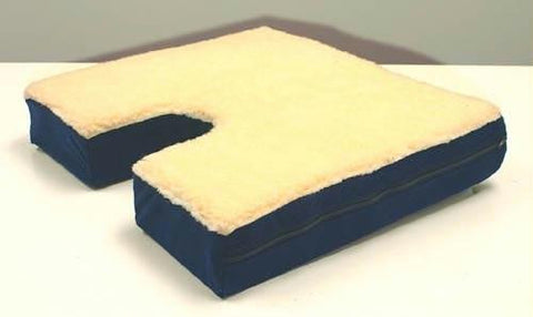 Picture of Coccyx Gel Seat Cushion w/ Fleece Top  18 Wx16 D x 3