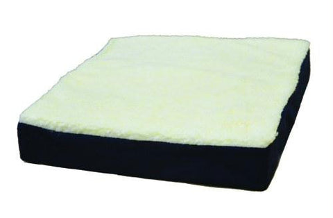 Picture of Gel Wheelchair Cushion w/Fleece Top  16 x22 x3.5