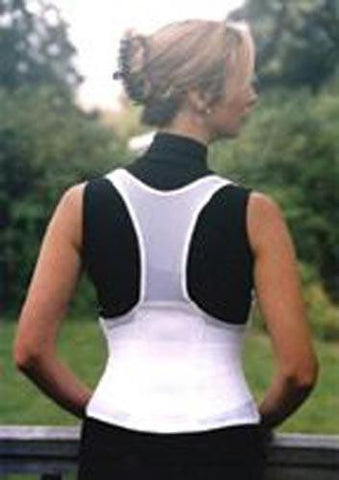 Picture of Cincher Female Back Support Medium White