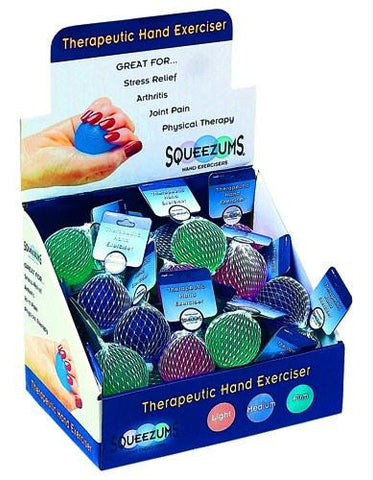 Picture of Squeezums Therapeutic Hand Exerciser Display(36 pcs)