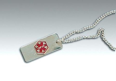 Picture of Medical Identification Jewelry-Necklace- Drug Allergy