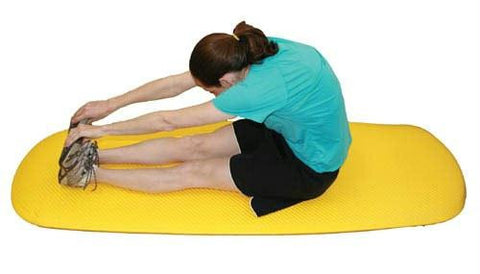 Picture of Cushioned Exercise Mat Blue 26  x 72  x 0.6