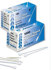 Mouth/Throat 8  Cotton-Tipped Applicators Bx/100 Non-Sterile