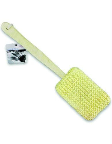 Picture of Exfoliating Body Sponge 15  w/Wooden handle