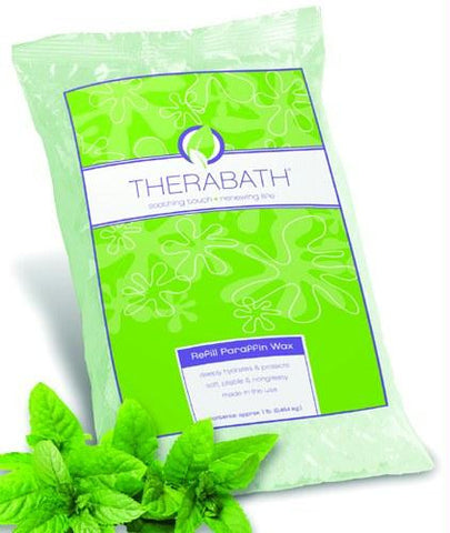 Picture of Paraffin Wax Refill- Therabath 1 lb.  Wintergreen Beads