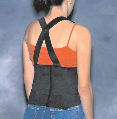 Picture of Back Support Industrial W/ Suspenders Small 28-32