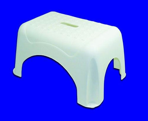Picture of Plastic Foot Stool w/o Rail White