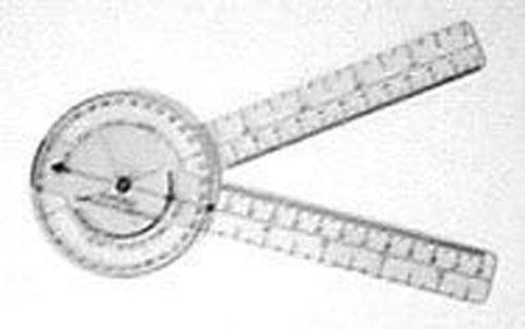 Picture of Plastic 8  Goniometer 360 Degree