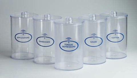 Picture of Sundry Jars- Plastic Labeled Set/5