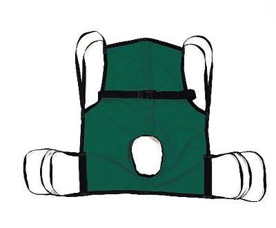 Picture of Sling  One-Piece  w/Commode Opening & Positioning Strap