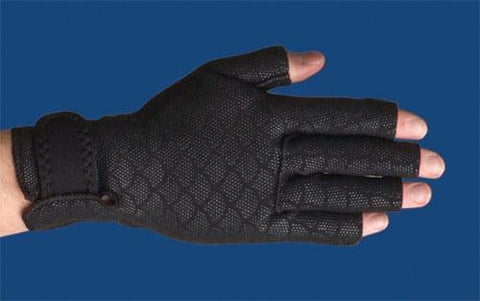 Picture of Thermoskin Arthritic Gloves Small 7 -7.75  (pair) Black