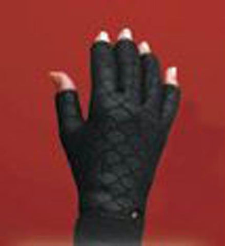 Picture of Thermoskin Arthritic Gloves X-Large 10.75 -11.5  Black -pr