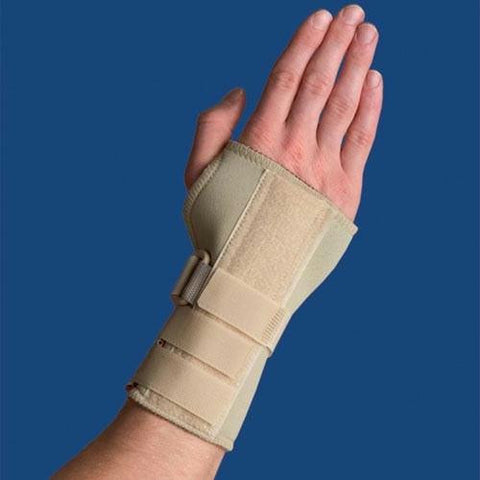 Picture of Thermoskin Carpal Tunnel Brace With Dorsal Stay  Small Left