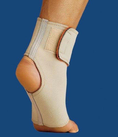 Picture of Thermoskin Ankle Wrap Medium Beige
