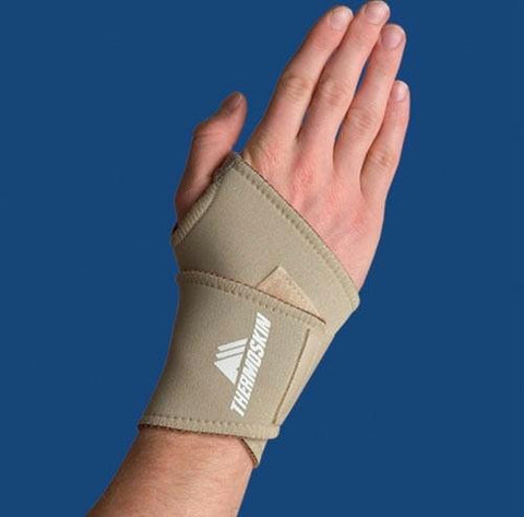 Picture of Thermoskin Wrist Wrap Sm/Md Beige