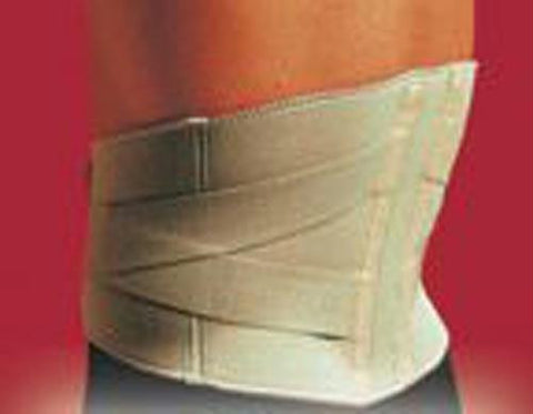 Picture of Thermoskin Lumbar Support Beige  Medium