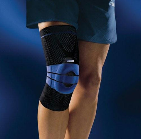 Picture of GenuTrain Active Knee Support Size 7  Black