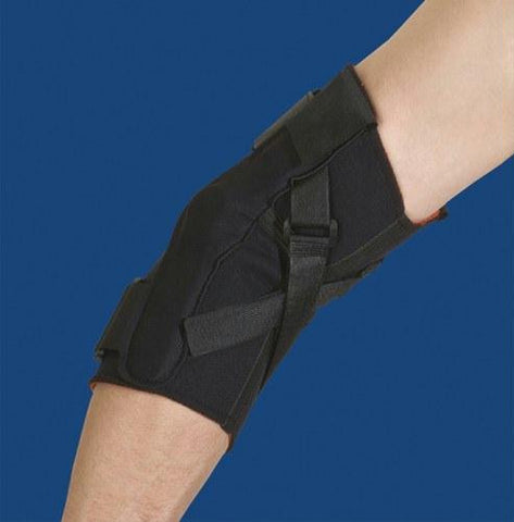 Picture of Thermoskin Hinged Elbow X-Large  Black