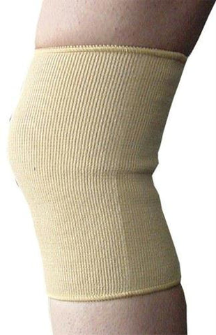 Picture of Elastic Knee Support  Beige Small  14 -16