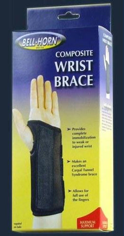 Picture of Composite Wrist Brace  Left Small  Wrist Circum: 5? -6?
