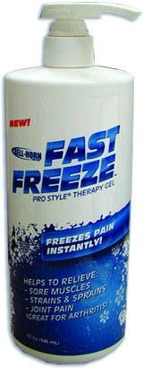 Picture of FastFreeze ProStyle? Therapy Gel  16oz Pump