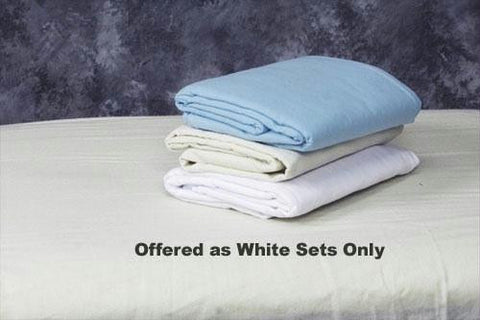 Picture of Linen Set for Massage Table White  Flannel Set  45