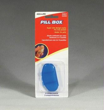 Picture of Pill Box-Daily (Kidney Shaped)