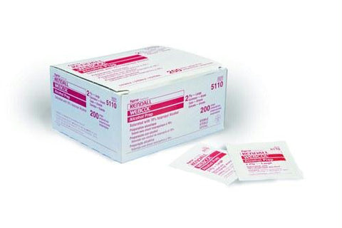 Picture of Webcol Alcohol Prep Pads Bx/200  Medium 2-Ply