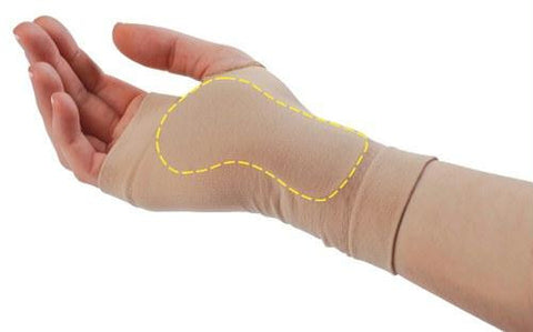 Picture of Visco-GEL? Carpal Tunnel Relief Sleeve  Large Left