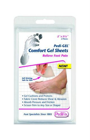 Picture of Pedi-Gel Comfort Gel Sheets 2 x3.5  (Pk/2)