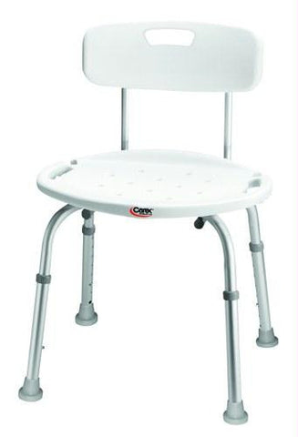 Picture of Bath & Shower Seat w/Back Adj Carex (Set-Up)(Non-retail)