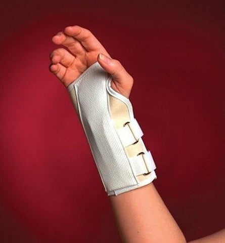 Picture of Cock-Up Wrist Splint Left Medium Sportaid