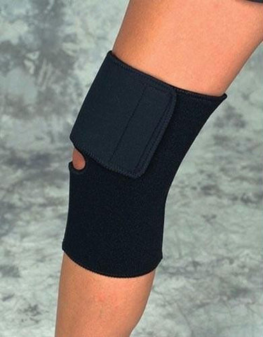 Picture of Knee Wrap Black Neoprene X-Large 17 -19  Sportaid
